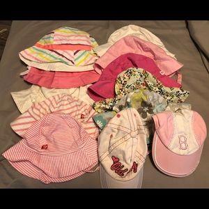 Baby girl sunhats